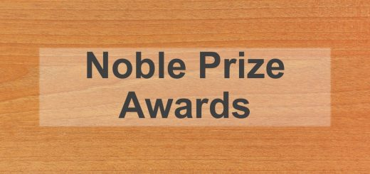 NOBLE PRIZE AWARDS