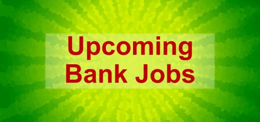 Upcoming Bank Jobs