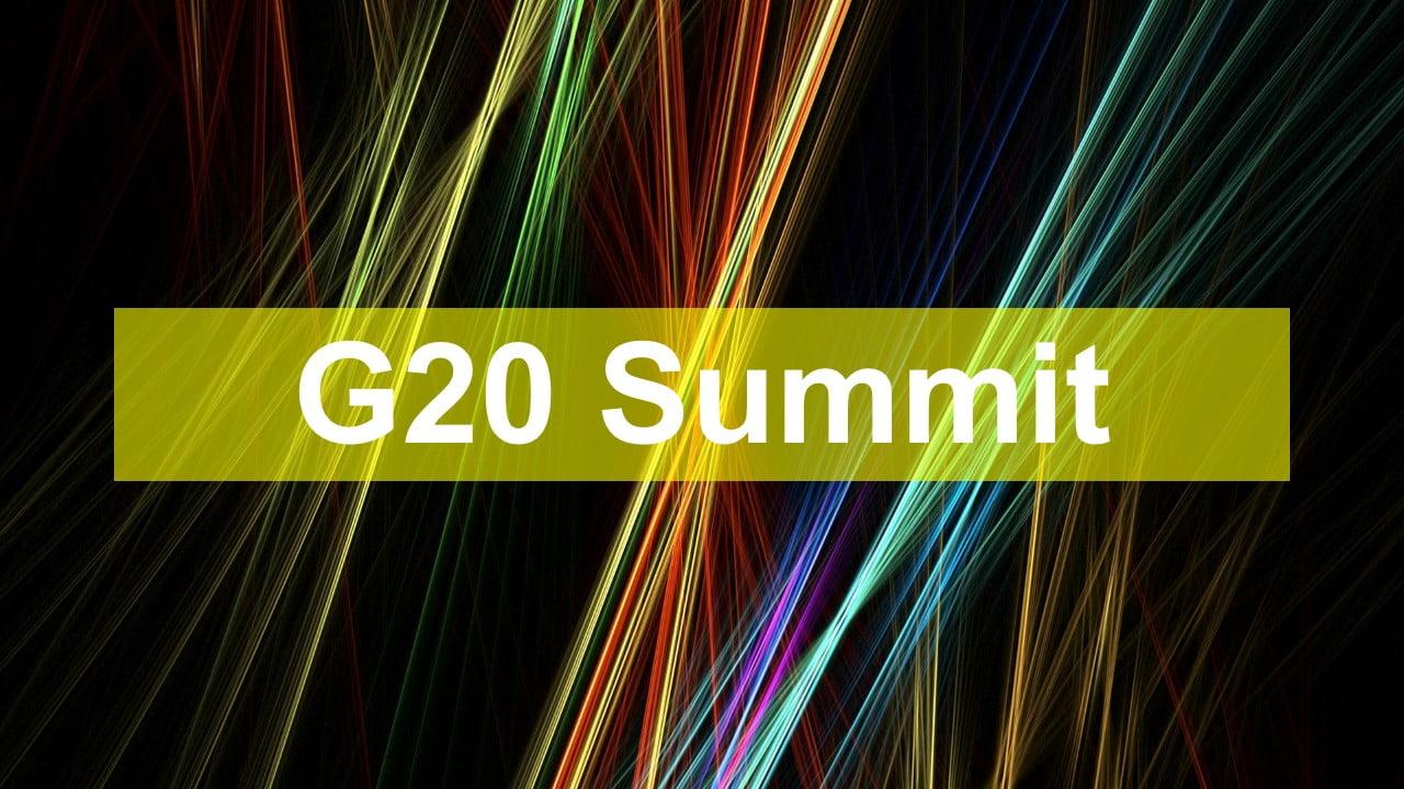 G-20 summit