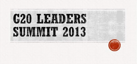 G20 Leaders Summit 2013