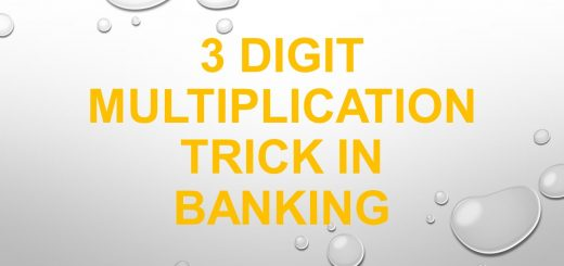 3 digit multiplication trick in banking
