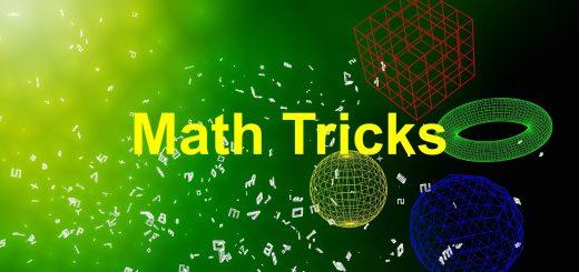 math tricks for bank exams