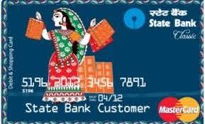 Magstripe SBI debit card