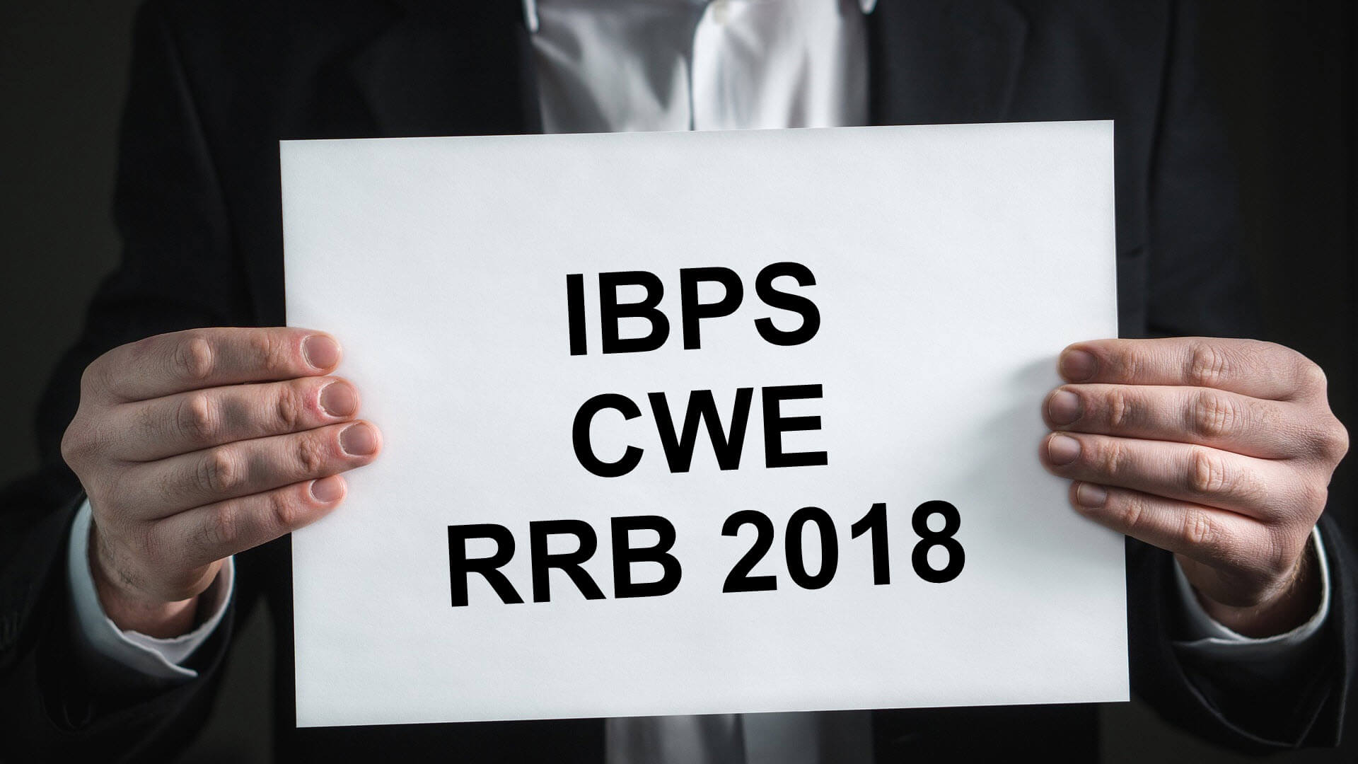 IBPS CWE RRB 2018