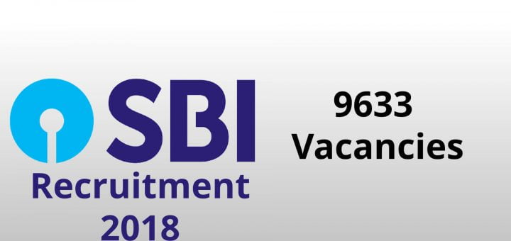 SBI Recruitment 2018 | Vacancies