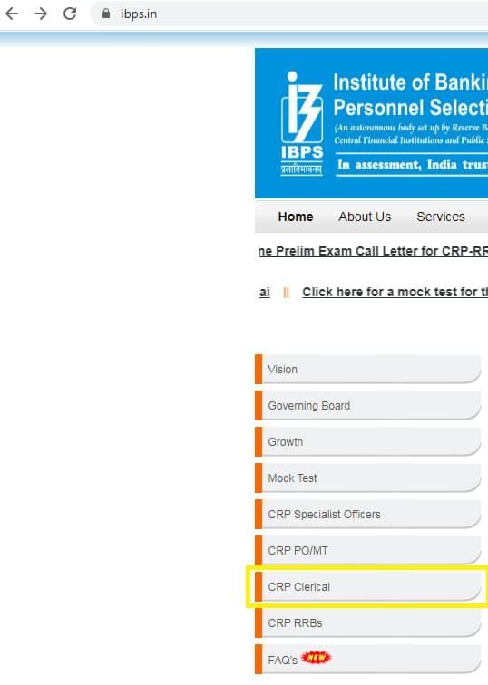 CRP Clerk X Apply