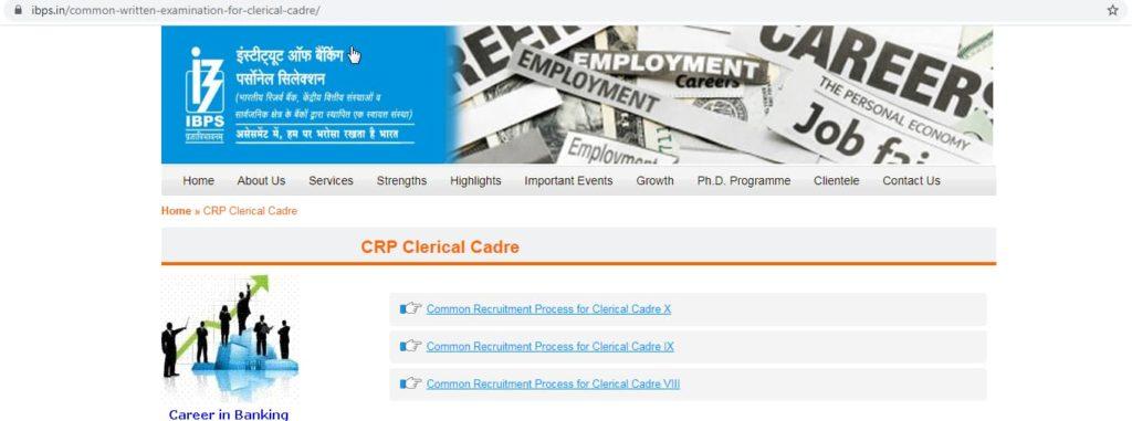 CRP Clerk X